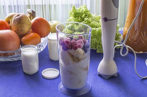 Ингредиенты для фруктового йогурта