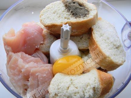 Мясо хлеб яйцо