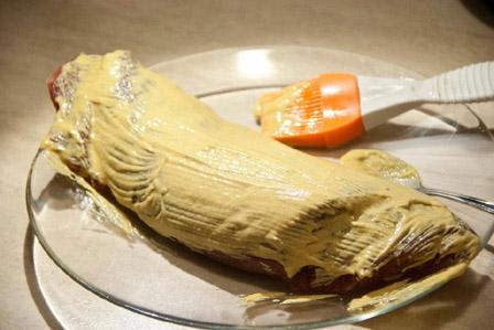Говядина в горчице