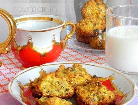 Овсяное ореховое печенье
