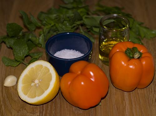 Ингредиенты для сальсы